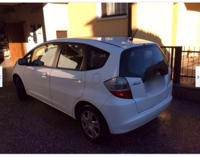 Honda jazz 1.4 i-vtec elegance i-shift