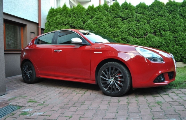 Alfa romeo giulietta  1.4 turbo multiair tct exclusive