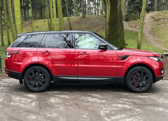 Land rover range rover sport  4.4 sdv8 autobiography