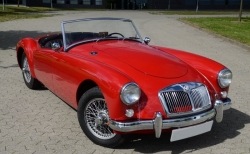 MG MGA 1500 Roadster