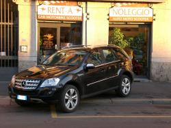MERCEDES-BENZ ML 320 Noleggio Mercedes ML 320 Cdi a Milano - SUV