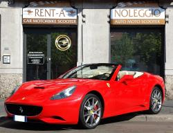 FERRARI California Noleggio a Milano Ferrari - Joey Rent Europe Luxury car hire rental