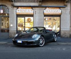 PORSCHE 991 Carrera 911 4S Cabrio - Joey Rent Milano Exotic Car Rental