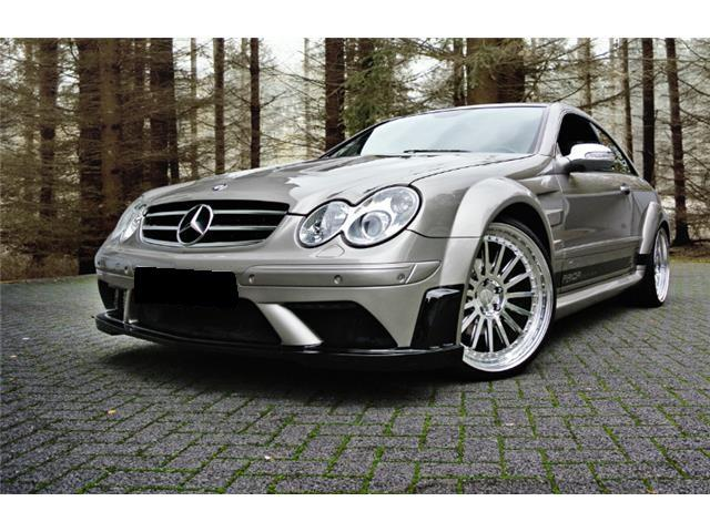 Mercedes-benz clk 280 black edition