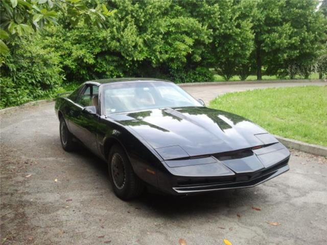 Pontiac firebird trans am supercar kitt