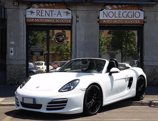 Porsche boxster sport exhaust - luxury car hire - joey rent europe