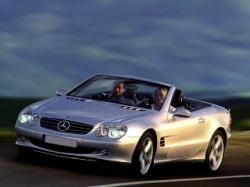 MERCEDES-BENZ SL 500 cat