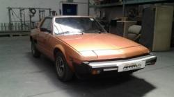 FIAT X 1/9 five speed america