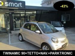 SMART ForFour -43% 90 VENDUTA TWINAMIC NAV+TETTO Cod.8JF0117.708