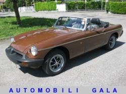 MG MGB SPORTS 1800 ROADSTER ISCRITTA ASI ORO