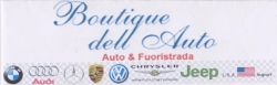 Concessionario BOUTIQUE DELL'AUTO  SRL